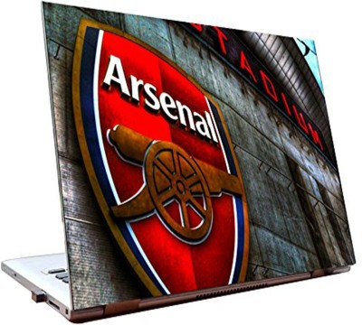 Dealmart Laptop Skins 15.6 inch - Arsenal FC - HD Quality Vinyl Laptop Decal 15.6