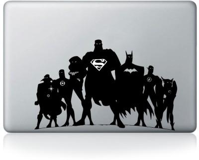 Inkflame Justice League Apple Macbook Mac Sticker Skin Decal Vinyl for 13, 15, 17 Inch Vinyl Laptop Decal 15