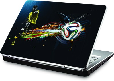 Clublaptop Brazuca Glider Football Vinyl Laptop Decal 15.6