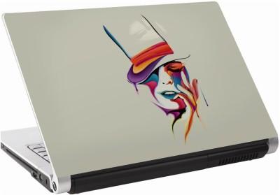 142Skin Paint Face Vinyl Laptop Decal 15.6