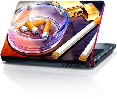 Shopkeeda Abstract Cigarettes Vinyl Laptop Decal 15.6