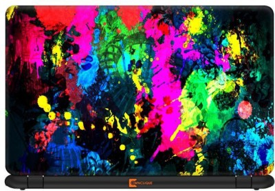 Ownclique Psychedelic Color Galore Vinyl Laptop Decal 15.6