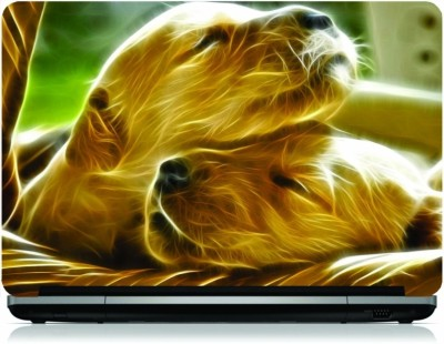 NG Stunners Puppies In Basket Ng-48 Vinyl Laptop Decal 15.6