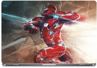 Marvel Civil War Iron Man Vinyl Laptop Decal