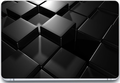 Trendsmate Black box Pattern 3M Vinyl and Lamination Laptop Decal 15.6