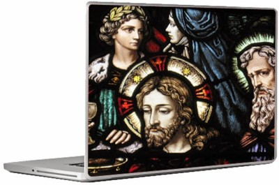 Theskinmantra Jesus Glass Laptop Decal 13.3