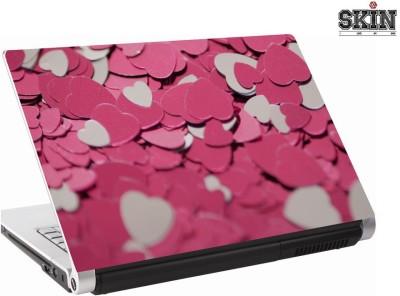 142Skin pinkheartmetal Vinyl Laptop Decal 15.6