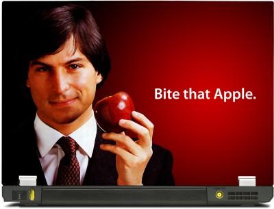 Skinkart Steve Jobs Apple Vinyl Laptop Decal 10.1