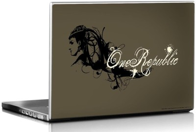 Bravado One Republic Lady Vinyl Laptop Decal 15.6