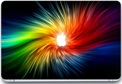 Trendsmate Apple Color Spectrum 3M Vinyl and Lamination Laptop Decal