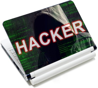 CrazyLiner Hacker Code Vinyl Laptop Decal 15.6