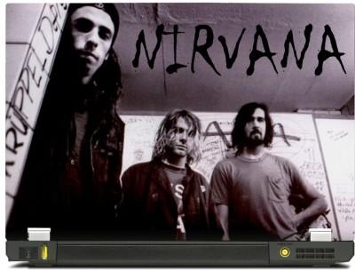 Skinkart Nirvana Laptop Skin Type 4 (Screen Size 10.1 inch) Premium quality Imported Vinyl Laptop Decal