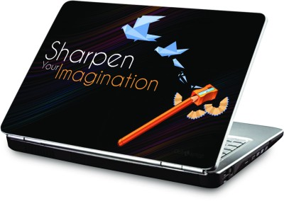 Clublaptop Sharpen Your Imagination - CLS 190 Vinyl Laptop Decal 15.6