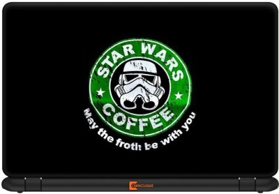 Ownclique Star Wars Coffee-Black Edition Vinyl Laptop Decal