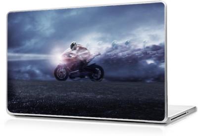Global Rider in Speed Vinyl Laptop Decal