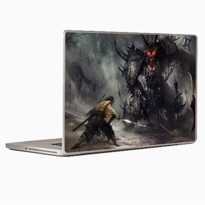 Theskinmantra David Vs Goliath Laptop Decal 14.1