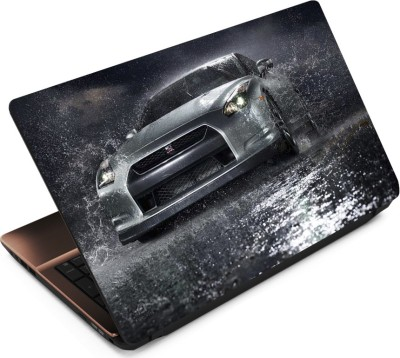 Finest Car 19 Vinyl Laptop Decal