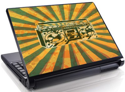 Theskinmantra Boom Box Vinyl Laptop Decal