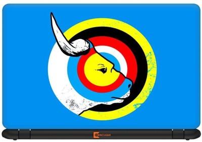 Urban Monk Bulls Eye Vinyl Laptop Decal 14.1