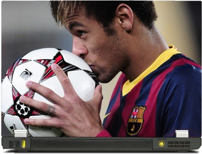 SkinShack Neymar Kissing Ball (13.3 inch) Vinyl Laptop Decal 13.3