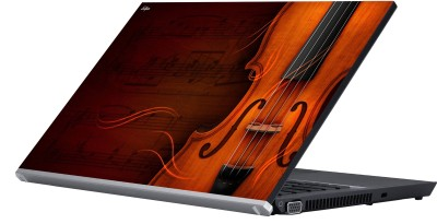 Eclipse Violin Vinyl Laptop Decal