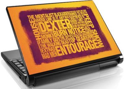 Theskinmantra TV Buff Skin Vinyl Laptop Decal