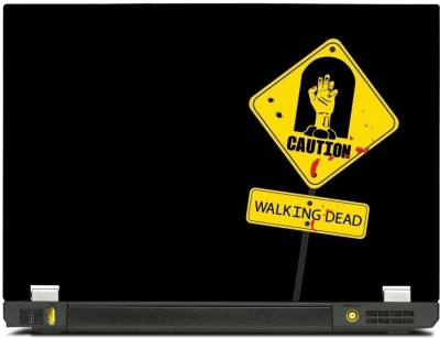Skinkart Zombie Laptop Skin Type 4 (Screen Size 13.3 inch) Premium quality Imported Vinyl Laptop Decal 13.3