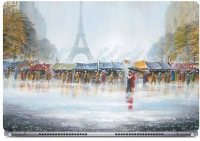 Posterboy Eiffel Art Vinyl Laptop Decal 15.6