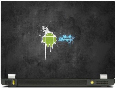 Skincentral Skinkart Android Graphic 4 Vinyl Laptop Decal 15.6