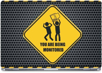 Posterboy You are being monitored Vinyl Laptop Decal 15.6