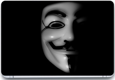 Trendsmate Anonymous 3D Mask 3M Vinyl and Lamination Laptop Decal