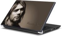 Artifa Kurt Cobain from Nirvana Band Vinyl Laptop Decal 15.6