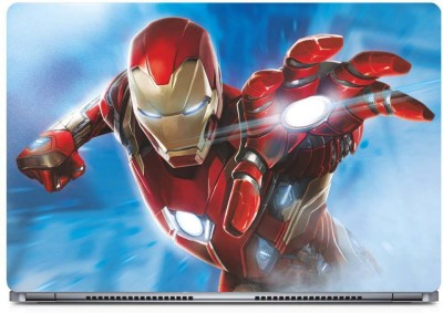 Marvel Iron Man action Vinyl Laptop Decal