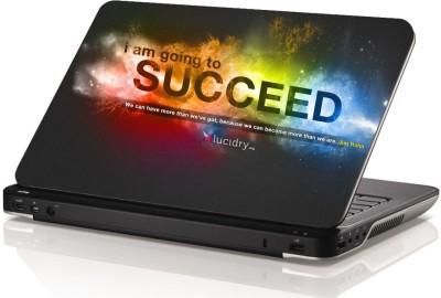 Swati Graphics SGLS030 Success Vinyl Laptop Decal 15.6