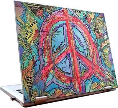 Dealmart Laptop Skins 15.6 inch - Peace - Colorful Vinyl Laptop Decal 15.6