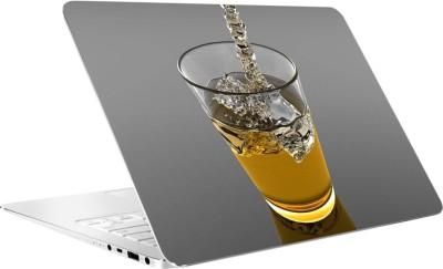 AV Styles Whisky In Glass By Av Styles Vinyl Laptop Decal 15.6