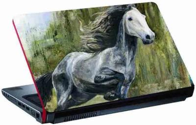 virtual prints horse image single horse digitally printed vinyl Laptop Decal 15