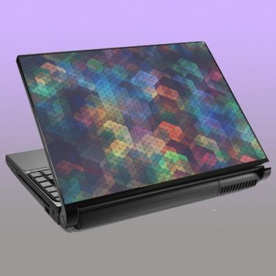 Theskinmantra Grey Color Matter Vinyl Laptop Decal 15.6