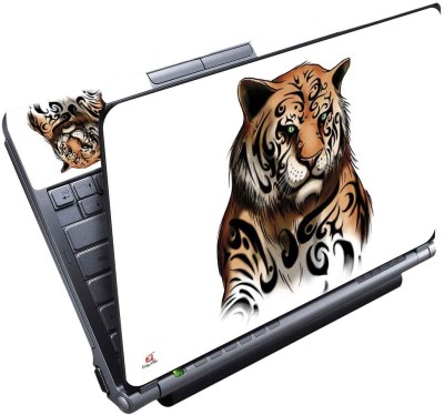 FineArts Lion Vector Full Panel Vinyl Laptop Decal 15.6