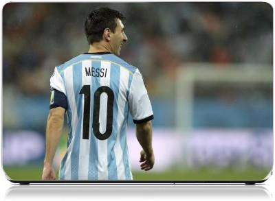 Friendly Formals Messi superstar football Vinyl Laptop Decal 15.6