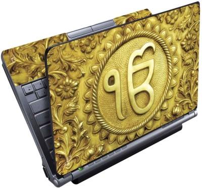 FineArts Sikh Symbol Full Panel Vinyl Laptop Decal 15.6
