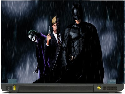 SkinShack Batman Joker and harver Dent Aka Two Face (14.1 inch) Vinyl Laptop Decal 14.1