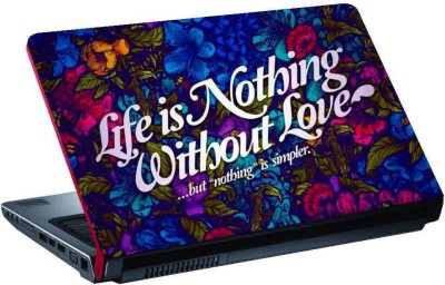 virtual prints sentence of love digitally printed Laptop Decal 15