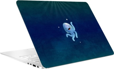 AV Styles Cute Jellyfish Laptop Skin Vinyl Laptop Decal 15.6