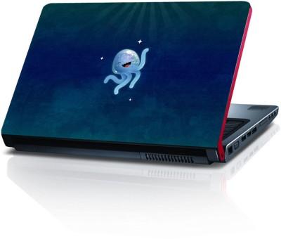 Shopkeeda Cute Jellyfish Vinyl Laptop Decal 15.6