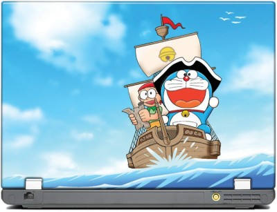 anycreation Doraemon in the ship Vinyl Laptop Decal 15