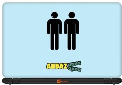 Ownclique Andaz Apna Apna Vinyl Laptop Decal 17