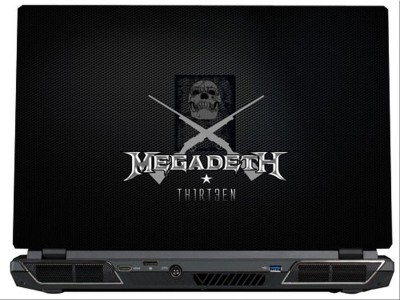 SkinShack Megadeth Thirten (14.1 inch) Vinyl Laptop Decal 14.1