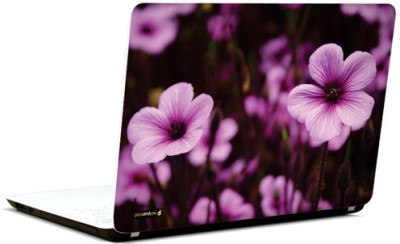 PicsAndYou Lovely Lavender Vinyl Laptop Decal 15.6