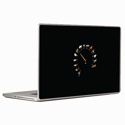Theskinmantra Speed Progression Laptop Decal